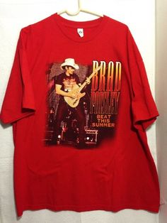 Brad Paisley 2013 Beat This Summer Tour T-Shirt Size 2XL Awesome Looking Shirt ! #AlstyleApparel #GraphicTee