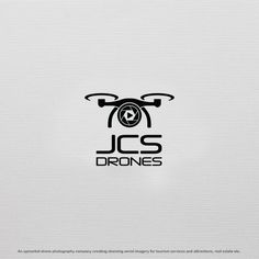 Crisp, clean, professional looking logo for high-end drone photography company by prvk.ptl