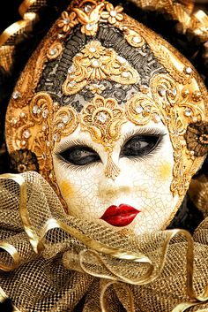 Carnival in Venice. Going to Venice is already on my bucket list, might as well throw carnival in too