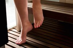 Sauna Safety...A sauna is a wonderful place for you and your family to relax in but in order to relax properly; you need to know that it is safe.    A little bit of common sense is necessary when planning and building your sauna; after all, a sauna is an enclosed space with high heat and humidity so there are a few things to bear in mind.