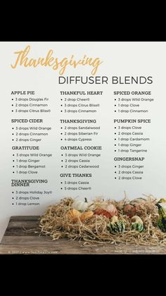 Thanksgiving diffuse
