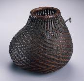 Old japanese flower basket
