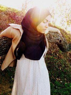 You have to love polka dots. #hijab #fashion