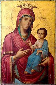 Библиотека / Иверская икона Божией Матери- Православный журнал Благодатный огонь