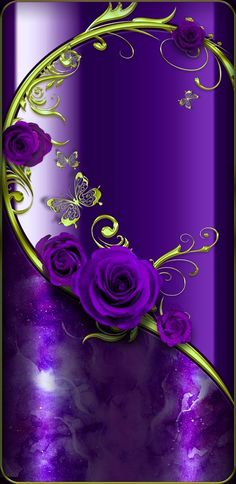 By Artist Unknown.- Wallpaper…By Artist Unknown… Wallpaper…By Artist Unknown… - Et Wallpaper, Purple Wallpaper, Flower Phone Wallpaper, Cellphone Wallpaper, Wallpaper Backgrounds, Iphone Wallpaper, Purple Love, Purple Hues, All Things Purple