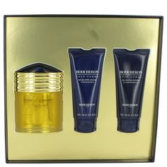 Gift Set -- 3.4 oz Eau De Parfum Spray + 3.4 oz After Shave Balm + 3.4 oz Shower Gel