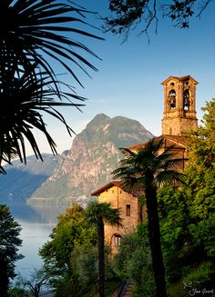 canton of Ticino, Switzerland (I think this is Lugano!)