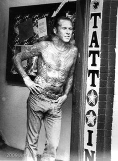 1000 images about vintage tattooed people on pinterest vintage tattoos old school tattoos. Black Bedroom Furniture Sets. Home Design Ideas