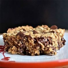 Peanut Butter Oatmeal Power Bars
