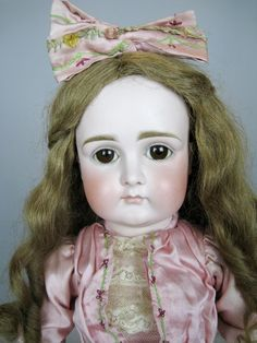 21' Early Kestner Closed Mouth Doll ~ Superb German Doll