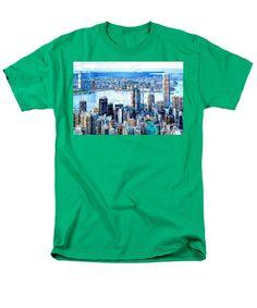 Men's T-Shirt (Regular Fit) - Hong Kong Skyline