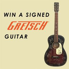 To celebrate the upcoming Ramblin' Man Fair festival, we've teamed up with Gretsch Guitars to give you the chance of winning a signed guitar!