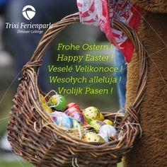 Frohe Ostern! Happy Easter! Veselé Velikonoce! Wesołych alleluja! Vrolijk Pasen!