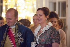 War & Peace 2016. Count and Countess Rostov at Natasha's First Ball