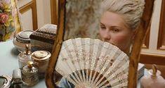 Marie Antoinette movie still with Kirsten Dunst. Sofia Coppola 2006, France, French, Versailles, Let them eat Cake, Paris.