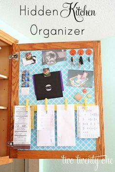 Home Command Centers and Homework Center Ideas