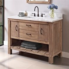 Fairmont Designs is described in two words; Express your creativity with Fairmont Designs bathroom vanities and bath furniture ensembles. The distinctive families of bath furniture from Fairmont Designs come in styles for every bath Rustic Bathroom Vanities, Bathroom Sink Vanity, Rustic Bathrooms, Bathroom Furniture, Small Bathroom, Bathroom Storage, Bathroom Ideas, Nature Bathroom, Bling Bathroom