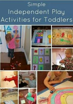 Fun independent activities