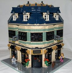 LEGO Ollivander's Men's clothes by cunctator