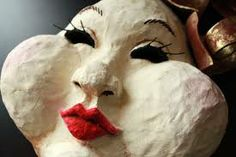 how to make papier mache masks - Google Search