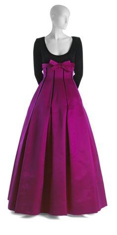Dress - Oscar de la Renta, 1992 - the University of North Texas