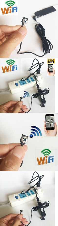 Other Home Surveillance: Diy 720P Wifi Ip Mini Camera Hidden Spy Camera White Screw Network Dvr Recorder -> BUY IT NOW ONLY: $66.99 on eBay!