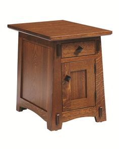 Amish Olde Shaker Chairside End Table