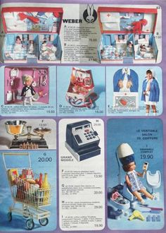 Poupées Voiture Gégé Barbie, Cheap Sale Catalogue Manufrance Noel Année 70 Educalux