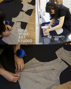 Fashion Design Portfolio, New York Art, Studio, Studios, Studying