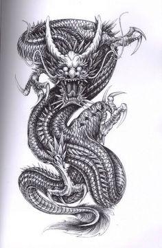 Waterproof Tattoos Sticker Full Arm large size chinese Dragon tattoo Water Transfer flash tatoo fake tattoo for men women Kunst Tattoos, Bild Tattoos, Irezumi Tattoos, Marquesan Tattoos, Maori Tattoos, Dragon Tattoo Sketch, Dragon Tattoo Designs, Tattoo Sketches, Dragon Head Tattoo