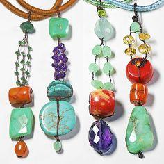 Pendentif Zen. Linea di ciondoli con pietre naturali semi preziose ispirati agli ideogrammi giapponesi. Progetto di STRA-DE STRATEGIC-DESIGN.
