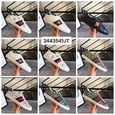 Gucci woman man leather shoes ace sneakers Leather Men, Leather Shoes, Man Shoes, Gucci Shoes, Woman, Sneakers, Leather Loafers, Tennis Sneakers, Leather Pumps