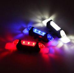 2016 Portable 5 LED USB MTB Road Bike Tail Light Rechargeable Safety Warning Bicycle Rear Light Lamp Cycling Bike Accessories #women, #men, #hats, #watches, #belts