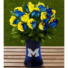 FTD University of Michigan Wolverines  Oh how I would LOVE to get these....sooooo pretty!!!