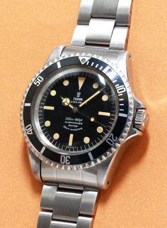 TUDOR Submariner Ref.7928 Cal.390 1960'S #vintagewatch #tudor #vintagetudor #diverwatch #vintagediverwatch #rolex #vintagerolex #submariner #vintagesubmariner #7928 #5513 #5512 #cal390