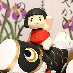 五月人形 錦彩鯉のぼり金太郎