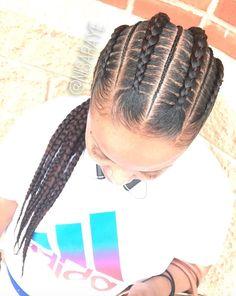 Beautiful braids via @nisaraye - https://blackhairinformation.com/hairstyle-gallery/beautiful-braids-via-nisaraye/