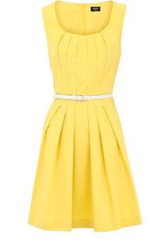 Yellow & a cute cut - I love it!