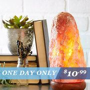 Take a look at the One-Day Deals on Salt Lamps event on #zulily today!