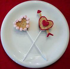 Valentine S'more Pops