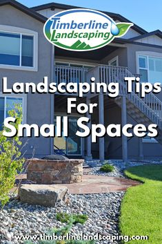 Landscaping Tips for Small Spaces Residential Landscaping, Landscaping Tips, Landscape Design, Garden Design, Gardening Tips, Small Spaces, Outdoor Living, Living Spaces, Designers
