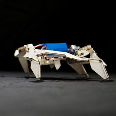 Origami Robot Folds and Crawls by Itself - Popular Mechanics