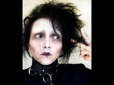 """In this how-to, watch as talented artist & make-up extraordinaire, Kandee Johnson recreates the spooky look of Tim Burton's Edward Scissorhands, famously played by Johnny Depp.    Kandee Johnson is a master at re-creating character looks with make-up application. Be sure to search """"kandeethemakeupartist"""" or """"Kandee Johnson"""" for more great tutorials on how to create these iconic looks!"""