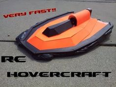 Very Fast RC Hovercraft - Made From Spare RC Plane Parts