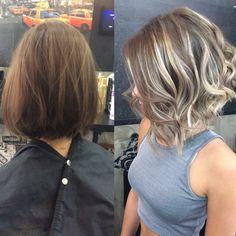 Medium Hair Styles, Short Hair Styles, Mom Hairstyles, Hair Color And Cut, Great Hair, Hair Highlights, Hair Dos, Balayage Hair, Gorgeous Hair