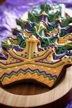 Mardi Gras Delectable Desserts