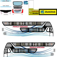 Kumpulan Livery Bimasena SDD (Double Decker) Bus Simulator Indonesia Terbaru Bus Games, Skull Pictures, Bus Coach, Joker, Activities, Luxury, School, Car, Automobile