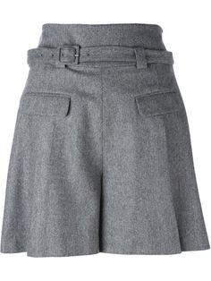 Shop Diane Von Furstenberg high waisted shorts.