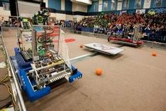 The Penguins and Sprockets are robotic basketball players