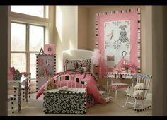 Nice French style girl bedroom
